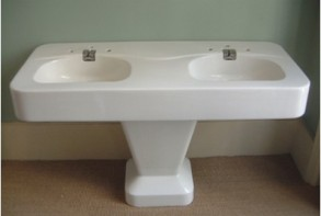 Voila my obsession for the last 3 months finding a vintage double - Vintage Bathroom Fixtures Rockrosewine