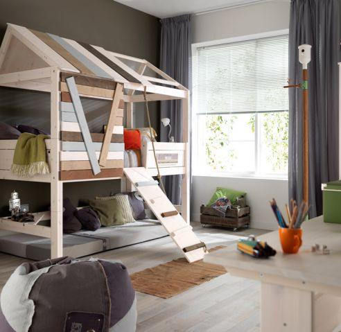 bunk bed plans treehouse
