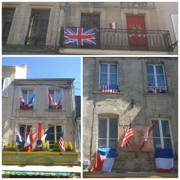 flags normandy